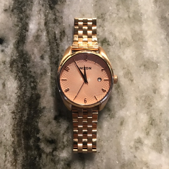 d7840f36994882 Nixon Accessories | Womens Rose Gold Watch Bullet | Poshmark